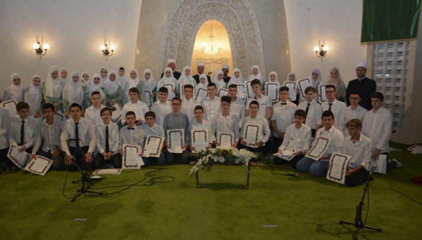 ZAVRŠNA MEKTEPSKA SVEČANOST U ISLAMSKOM CENTRU ZAGREB