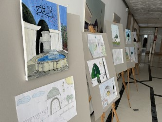Povodom Dana džamija u  Islamskom centru Zagreb otvorena izložba likovnih radova polaznika mektepske nastave